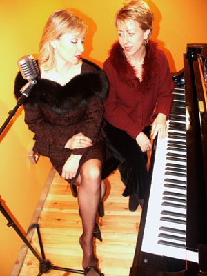 Tina May with Nikki Iles