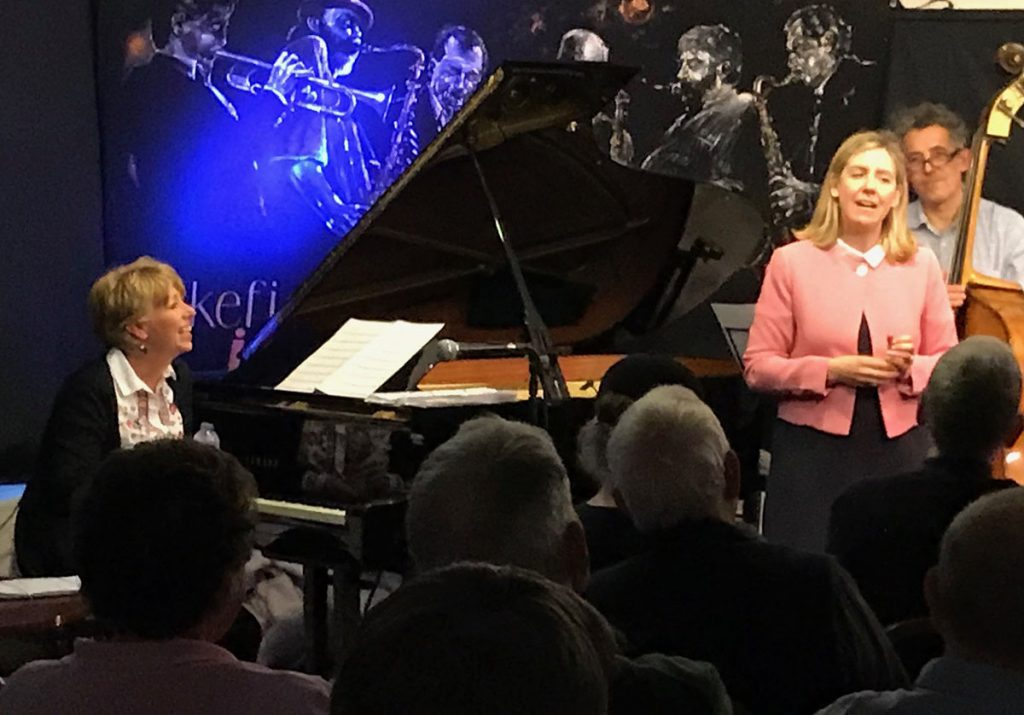 Andrea Jenkyns MP at Jazz Festival - wakefieldjazz.org